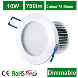 10W  SMD LED Downlight